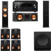 Klipsch RP-280F Tower Speakers-RP-250C-SW-112-7.1-Pioneer Elite SC-85