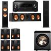 Klipsch RP-280F Tower Speakers-RP-450C-PL-200-7.1-Pioneer Elite SC-85