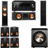 Klipsch RP-280F Tower Speakers-RP-250C-PL-200-7.1-Pioneer Elite SC-85
