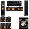 Klipsch RP-280F Tower Speakers-PL-200-7.1-Onkyo TX-NR838