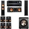 Klipsch RP-280F Tower Speakers-RP-250C-PL-200-7.1-Onkyo TX-NR838