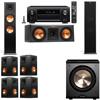 Klipsch RP-280F Tower Speakers-RP-250C-PL-200-7.1-Denon AVR-X4100W