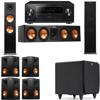 Klipsch RP-280F Tower Speakers-RP-450C-SDS12-7.1-Pioneer Elite SC-85