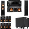 Klipsch RP-280F Tower Speakers-RP-250C-SDS12 -7.1-Pioneer Elite SC-85