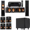 Klipsch RP-280F Tower Speakers-SDS12-7.1-Denon AVR-X4100W