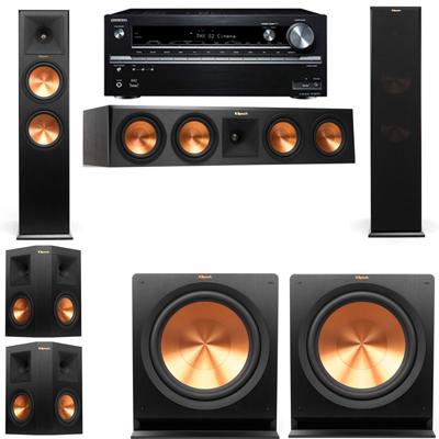 Klipsch RP-280F Tower Speakers-5.2-Onkyo TX-NR838