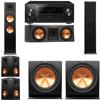 Klipsch RP-280F Tower Speakers-RP-250C-R112SW-5.2-Pioneer Elite SC-85