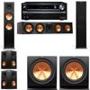 Klipsch RP-280F Tower Speakers-R112SW-5.2-Onkyo TX-NR838