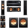 Klipsch RP-280F Tower Speakers-RP-250C-R112SW-5.2-Onkyo TX-NR838