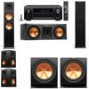 Klipsch RP-280F Tower Speakers-RP-250C-R-112SW-5.2-Denon AVR-X4100W
