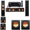 Klipsch RP-280F Tower Speakers-R112SW-5.2-Denon AVR-X4100W