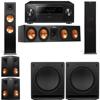 Klipsch RP-280F Tower Speakers-RP-450C-SW-112-5.2-Pioneer Elite SC-85