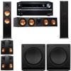 Klipsch RP-280F Tower Speakers-SW-112-5.2-Onkyo TX-NR838