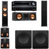 Klipsch RP-280F Tower Speakers-RP-250C-SW-112-5.2-Onkyo TX-NR838