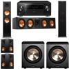 Klipsch RP-280F Tower Speakers-RP-450C-PL-200-5.2-Pioneer Elite SC-85
