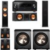 Klipsch RP-280F Tower Speakers-RP-250C-PL-200-5.2-Pioneer Elite SC-85