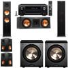Klipsch RP-280F Tower Speakers-RP-250C-PL-200-5.2-Denon AVR-X4100W