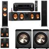 Klipsch RP-280F Tower Speakers-PL-200-5.2-Denon AVR-X4100W