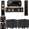 Klipsch RP-280F Tower Speakers-RP-450C-SDS12-5.2-Pioneer Elite SC-85