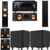 Klipsch RP-280F Tower Speakers-RP-250C-SDS12 -5.2-Pioneer Elite SC-85