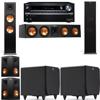 Klipsch RP-280F Tower Speakers-SDS12-5.2-Onkyo TX-NR838