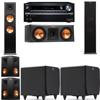 Klipsch RP-280F Tower Speakers-RP-250C-SDS12 -5.2-Onkyo TX-NR838