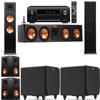 Klipsch RP-280F Tower Speakers-SDS12-5.2-Denon AVR-X4100W