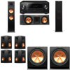 Klipsch RP-280F Tower Speakers-RP-250C-7.2-Pioneer Elite SC-85