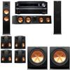 Klipsch RP-280F Tower Speakers-RP-450C-R112SW-7.2-Pioneer Elite SC-85