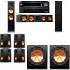 Klipsch RP-280F Tower Speakers-R112SW-7.2-Onkyo TX-NR838