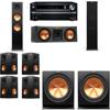 Klipsch RP-280F Tower Speakers-RP-250C-R112SW-7.2-Onkyo TX-NR838