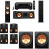 Klipsch RP-280F Tower Speakers-RP-250C-R-112SW-7.2-Denon AVR-X4100W