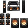 Klipsch RP-280F Tower Speakers-R112SW-7.2-Denon AVR-X4100W