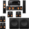 Klipsch RP-280F Tower Speakers-RP-450C-SW-112 - 7.2 - Pioneer Elite SC-85