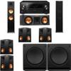 Klipsch RP-280F Tower Speakers-RP-250C-SW-112-7.2-Pioneer Elite SC-85