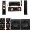 Klipsch RP-280F Tower Speakers-RP-250C-SW-112-7.2-Denon AVR-X4100W