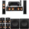 Klipsch RP-280F Tower Speakers-SW-112-7.2-Denon AVR-X4100W
