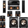 Klipsch RP-280F Tower Speakers-RP-250C-PL-200-7.2-Pioneer Elite SC-85