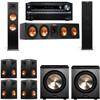 Klipsch RP-280F Tower Speakers-PL-200-7.2-Onkyo TX-NR838