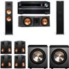 Klipsch RP-280F Tower Speakers-RP-250C-PL-200-7.2-Onkyo TX-NR838