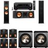 Klipsch RP-280F Tower Speakers-RP-250C-PL-200-7.2-Denon AVR-X4100W