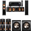 Klipsch RP-280F Tower Speakers-PL-200-7.2-Denon AVR-X4100W