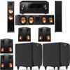 Klipsch RP-280F Tower Speakers-RP-450C-SDS12-7.2-Pioneer Elite SC-85