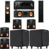 Klipsch RP-280F Tower Speakers-RP-250C-SDS12 -7.2-Pioneer Elite SC-85