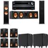 Klipsch RP-280F Tower Speakers-SDS12-7.2-Onkyo TX-NR838
