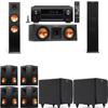 Klipsch RP-280F Tower Speakers-RP-250C-SDS12 -7.2-Denon AVR-X4100W
