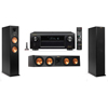 Klipsch RP-260F Tower Speakers-3.0-Denon AVR-X4100W