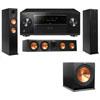 Klipsch RP-260F Tower Speakers-RP-450C-3.1-Pioneer Elite SC-85