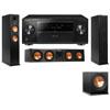 Klipsch RP-260F Tower Speakers-RP-450C-R112SW-3.1-Pioneer Elite SC-85
