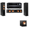 Klipsch RP-260F Tower Speakers-R112SW-3.1-Onkyo TX-NR838